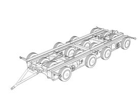 Culemeyer four axles